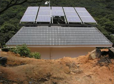 Guangxi forest fire monitoring 1800W power supply system -2010